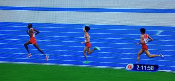 仁川アジア大会男子マラソンラスト