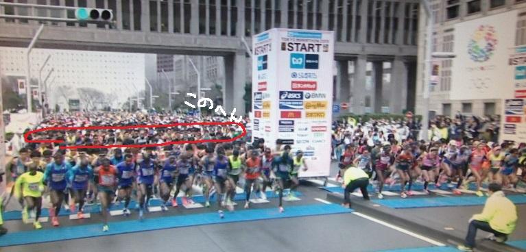 東京マラソン 準エリート