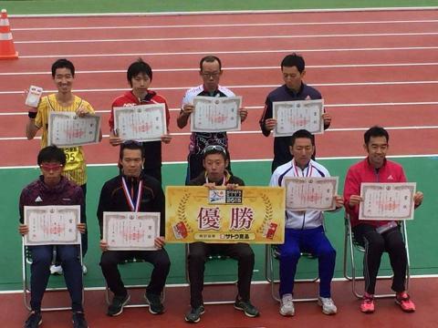 新潟シティマラソン表彰式