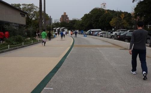 福岡国際マラソン スタートライン