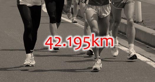 42195km
