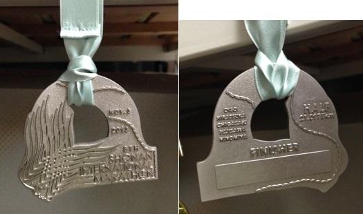 湘南国際マラソン完走メダル