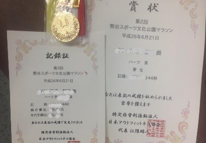 アースランクラブ 表彰メダル