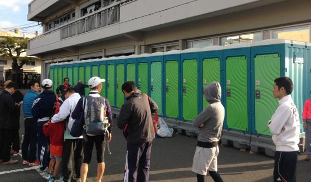しまだ大井川マラソン トイレ不足