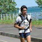 2014年6月、サロマ湖100kmマラソンを完走した山地氏