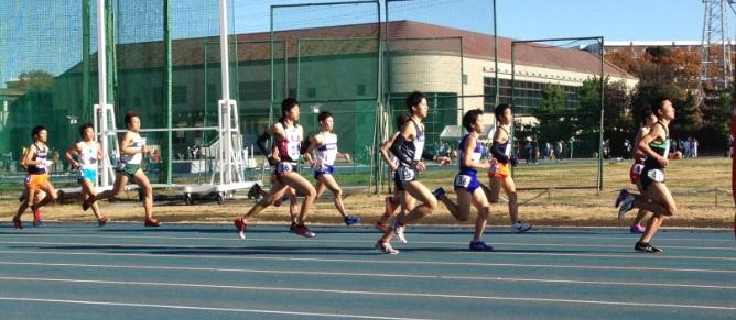 006日体大記録会5組目