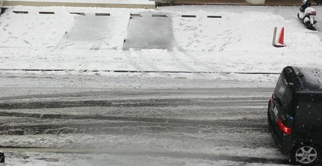 雪道ランニング轍は危険