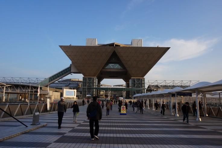 東京ビッグサイト プロジェクションマッピング