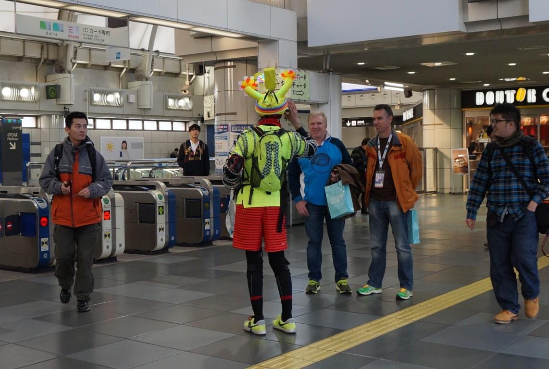 ジョセフ・ティムさん 東京マラソン