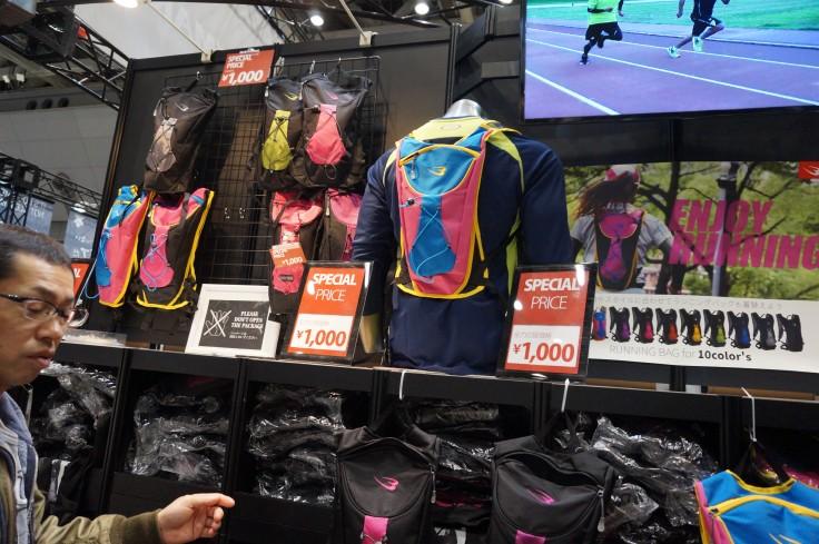 東京マラソンEXPO バックパック激安