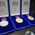 東京マラソン2015 表彰メダル