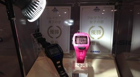 横浜マラソン優勝者 時計CASIO