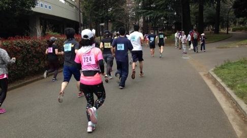 駒沢公園ジョギングコース?