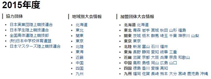 出典:日本陸上競技連盟