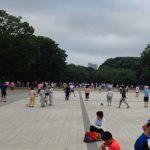 上野恩賜公園 ラジオ体操