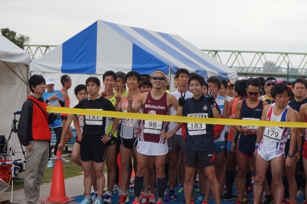 東京トライアルハーフマラソン 上位選手