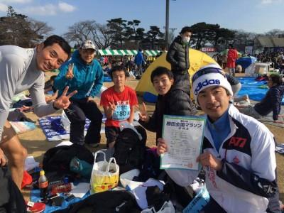 Citymarathon編集部と出口さん